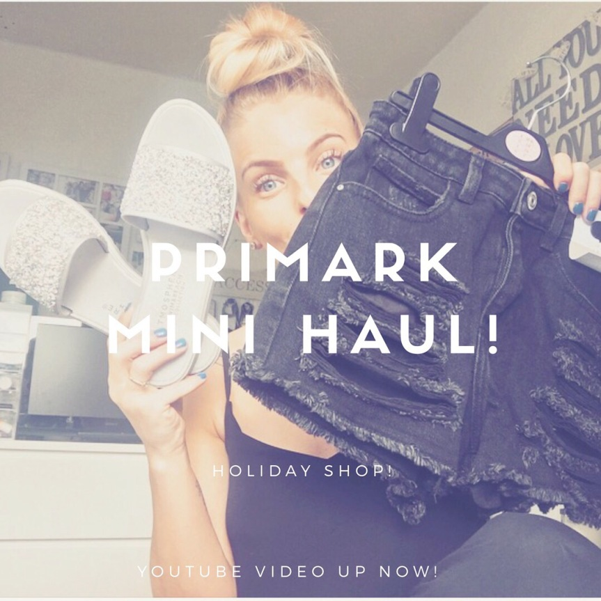 Primark Mini Haul! Holiday shop!
